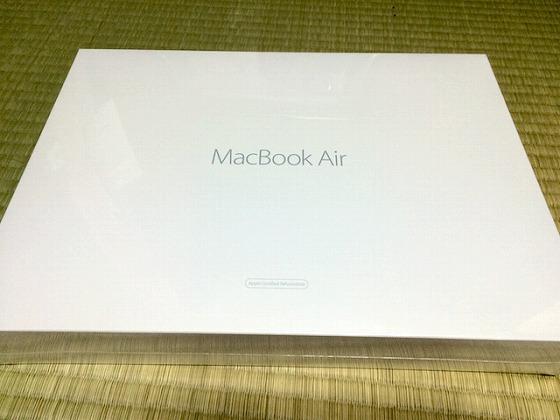 MacBook Air_整備品_化粧箱