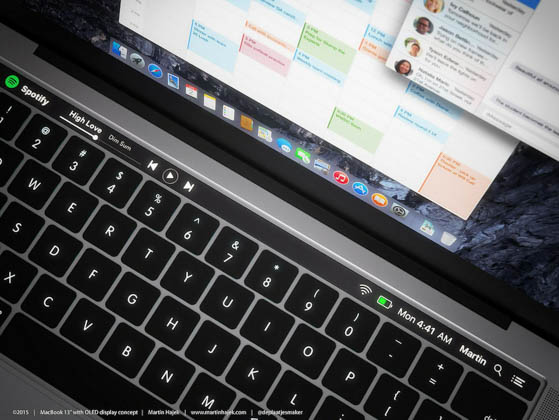 MacBook_タッチバー