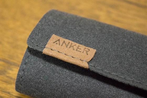 Anker PowerLine+ USB-C_フェルトポーチ_ロゴ