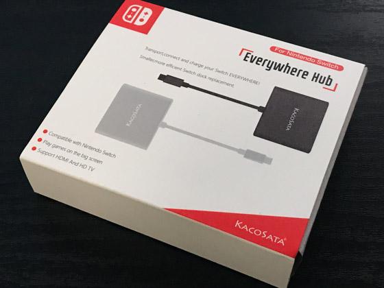 Nintendo Switch用HDMI変換アダプタ_箱