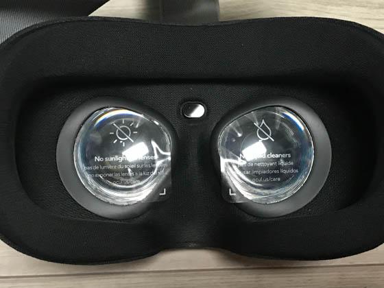 Oculus Go_レンズ